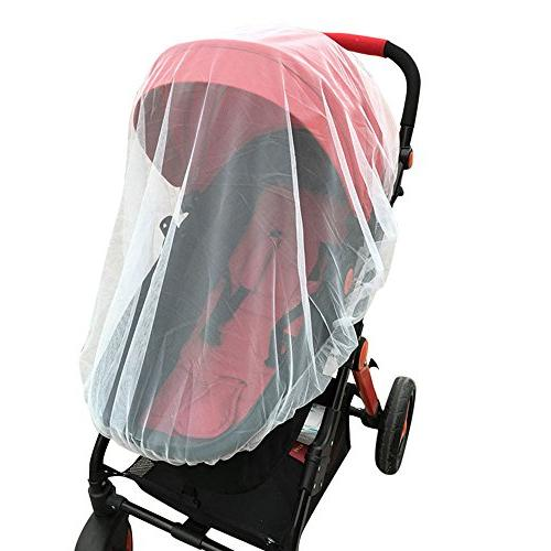 infant baby stroller double mosquito