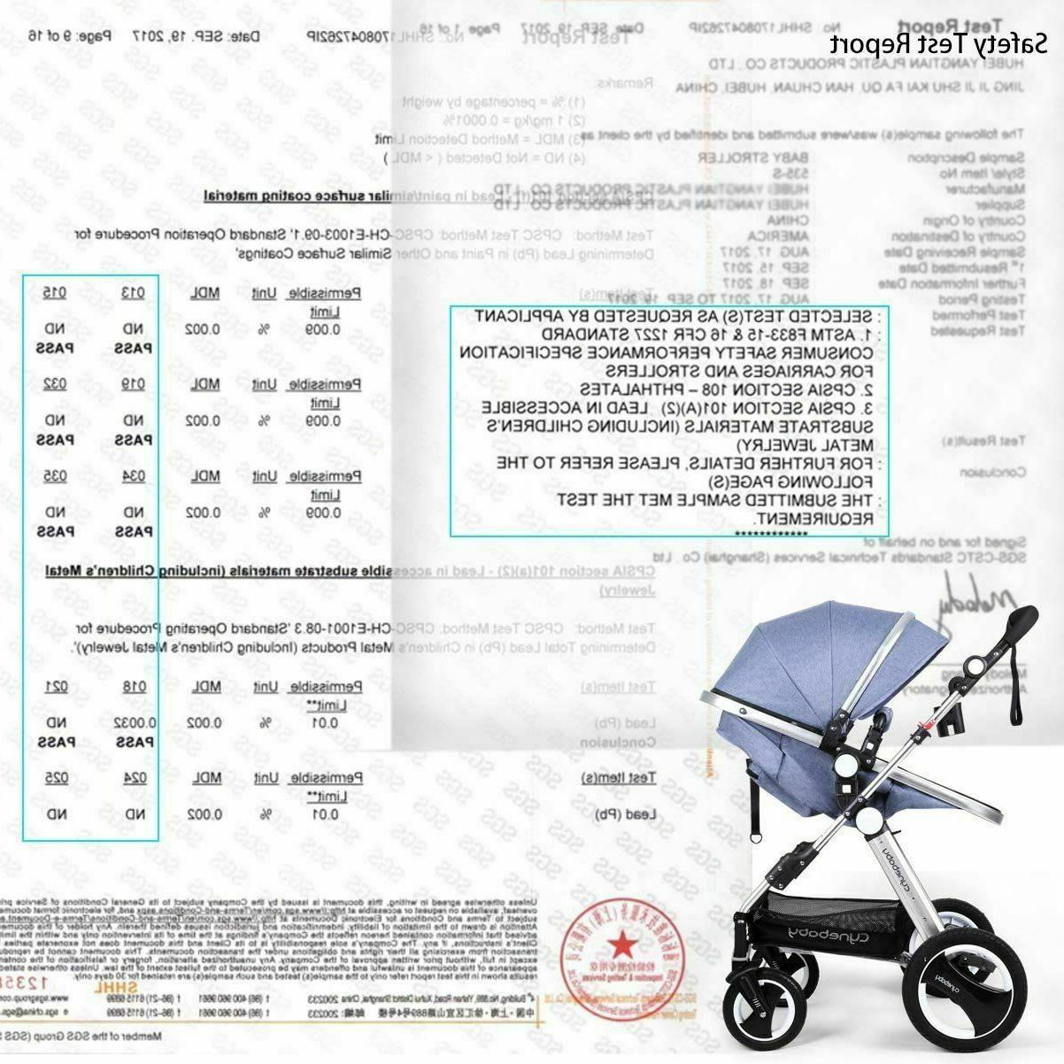 Infant Toddler Carriage Cynebaby Pram Strollers