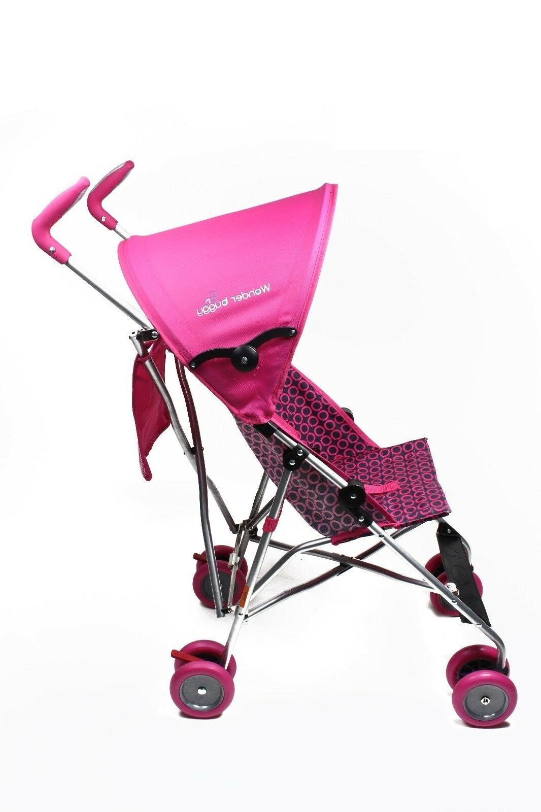 Wonder Stroller With Round Adjustable Canopy For Baby