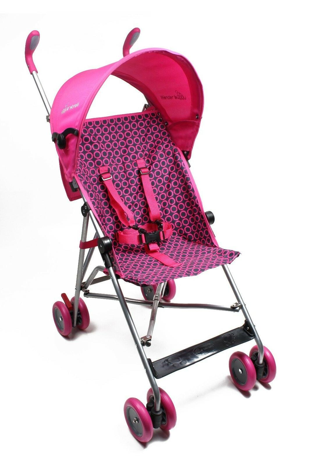 jumbo umbrella stroller with round adjustable canopy