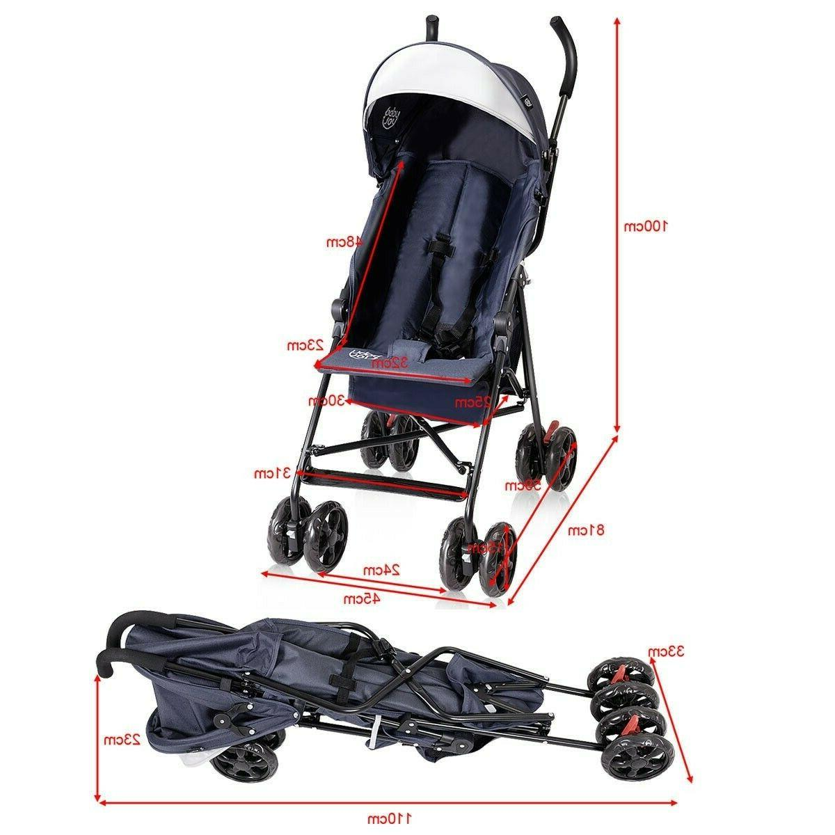 Lightweight Pushchair Toddler Canopy