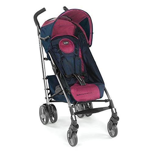 0935210f6 Chicco Liteway Plus 2-in-1 Lightweight Stroller - Blackberry