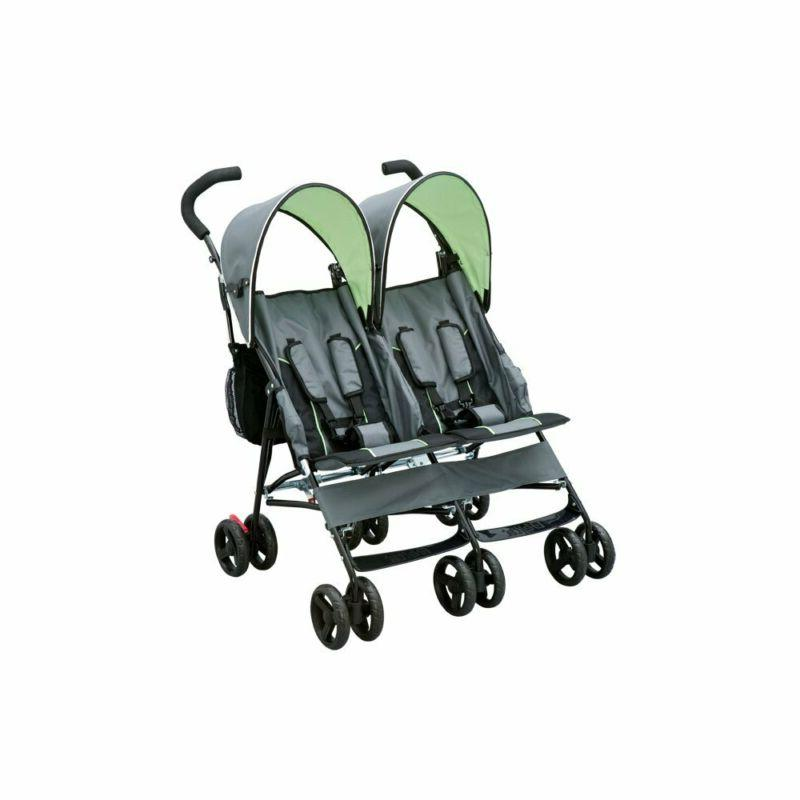 by Side Stroller, & Green