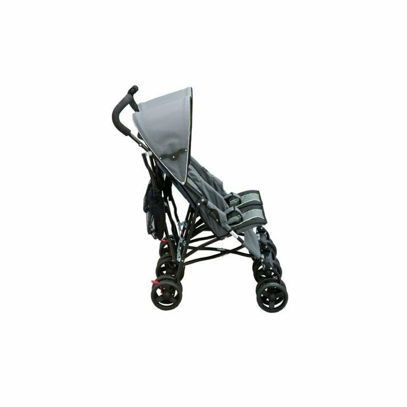 Delta Children Side by Side Stroller, Lime &