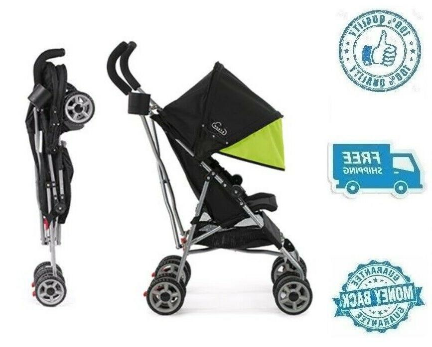 new green umbrella stroller with canopy toddler