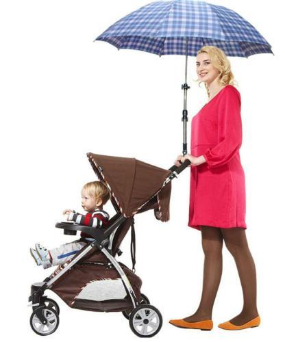 New Stroller Pram Stand Parts Adjustable Rack Umbrella