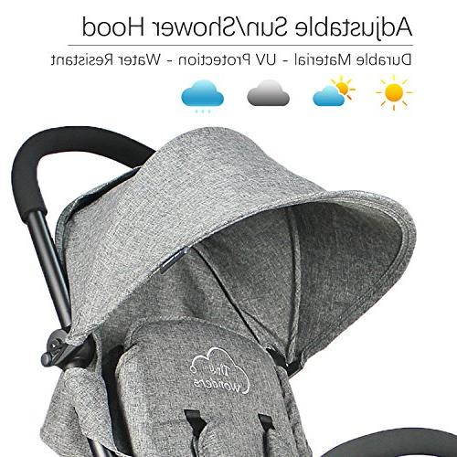 Tiny Wonders Single Lightweight Travel Large Canopy for Toddler, Baby Girls, Unisex Old and