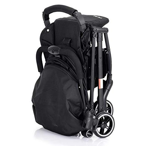 BABY Stroller, Baby Carriage, Reclining Warm Foot Cover, Extended Canopy, Folding Compartment