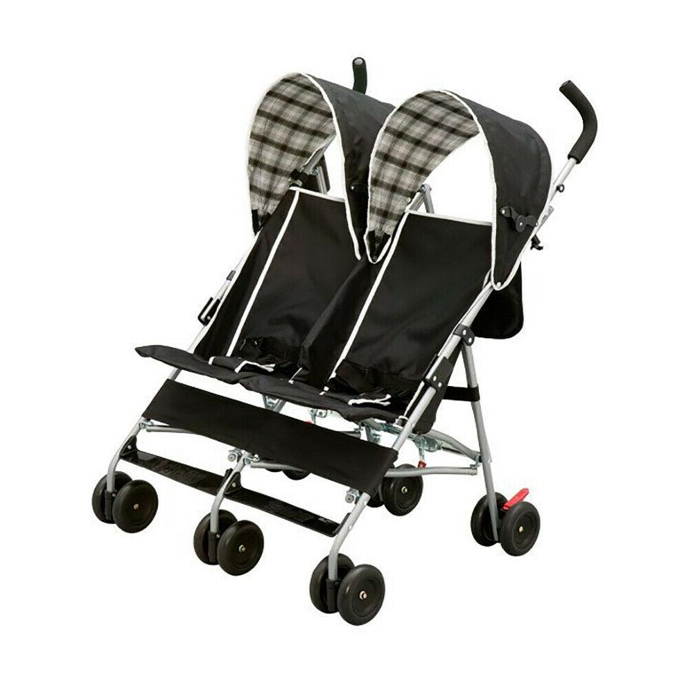 stroller double twin delta children dx side