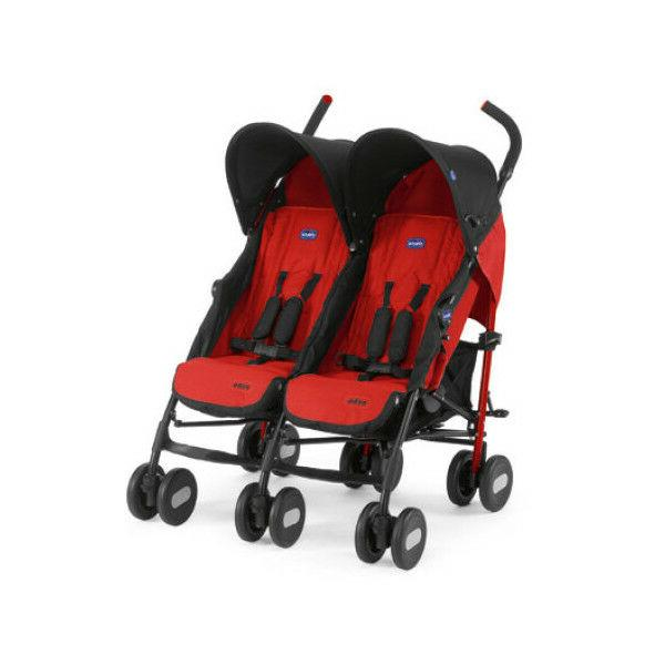 stroller echo twin garnet double duo gemelli