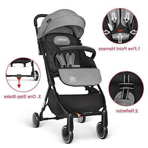 besrey Stroller Baby for - Gray
