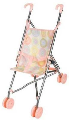 """Toy Doll Large Umbrella Baby Stroller Holds Doll up to 18"""" T"""
