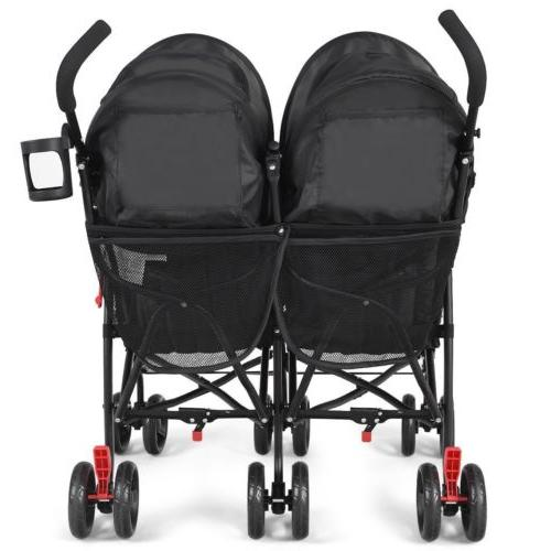 Foldable Baby Stroller Multicolor