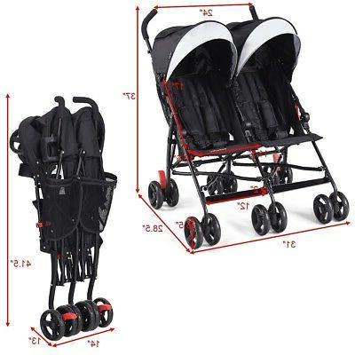 Twins Baby Ultralight Pushchair