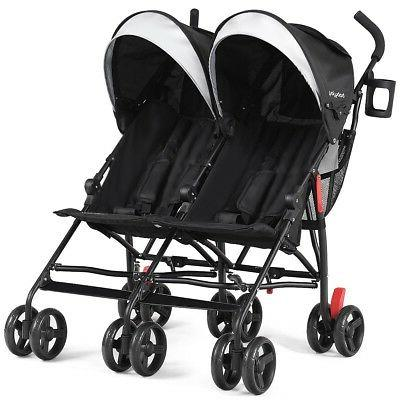 Twins Baby Double Ultralight Pushchair
