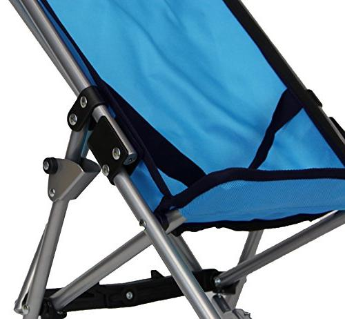 Umbrella Stroller Blue Front Wheels