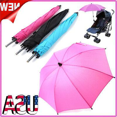 Umbrella Holder Mount Handle for Baby Bicycle Stroller Chair Rays