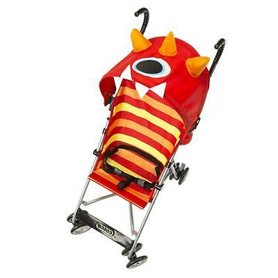 umbrella stroller monster elliot red