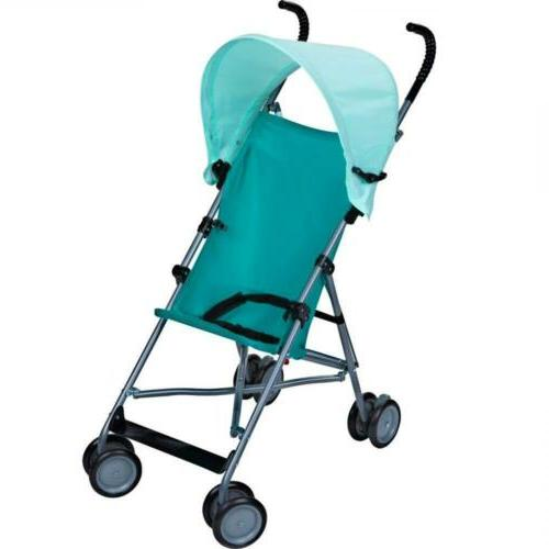 umbrella stroller with canopy blue