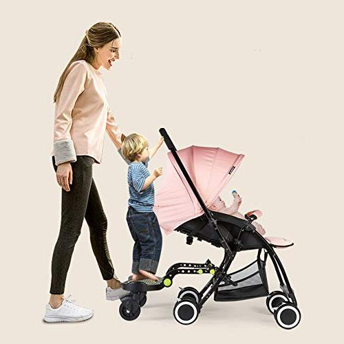 Stroller A-Ride-Along Holds Kids 70 LBS | Fits 95% | Universal Latching Allows The to on Strollers in