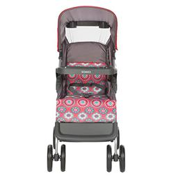 Cosco Lift & Stroll Convenience Stroller in Posey Pop