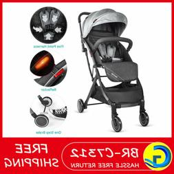 Besrey Lightweight Stroller Foldable Compact Travel Pushchai