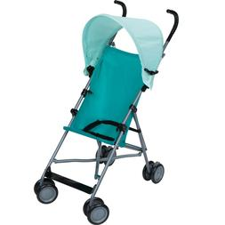 Cosco Lightweight Teal Blue Umbrella Stroller w/ Canopy Shad