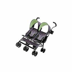 Delta Children LX Side By Side Tandem Umbrella Stroller, Lim