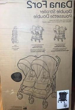 Maxi Cosi Dana For 2 Double Stroller in Black Brand New