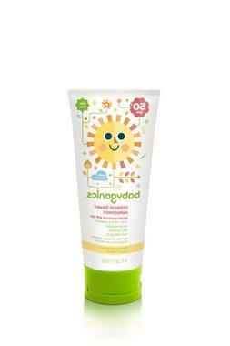 Babyganics Mineral-Based Sunscreen SPF 50, 6 oz , Packaging