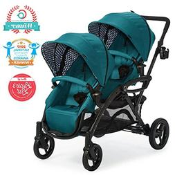 Contours Options Elite Tandem Double Baby & Toddler Stroller