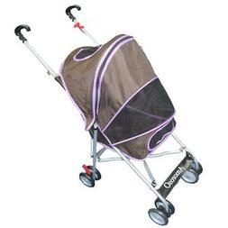 AmorosO Pet Stroller 4.5 by 8 Inch Wheel