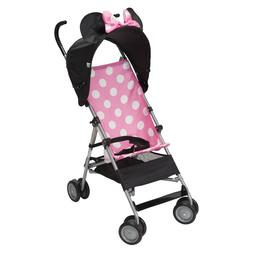 Pink Minnie Mouse Ear&Bow Canopy Folding Lightweight Compact