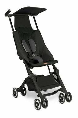 Pockit Lightweight Stroller Monument Black