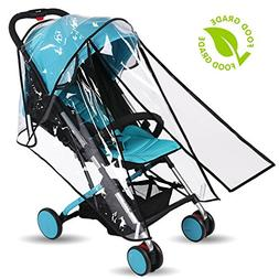 Baby Stroller Rain Cover Weather Shield Accessories Universa