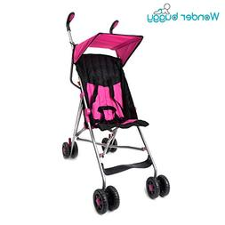 Wonder Buggy Taylor Two Position Stroller with Canopy, Pink,