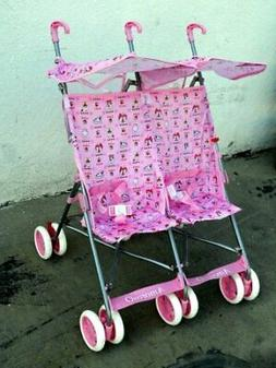 Amoroso Twin Baby Stroller, Pink