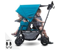 Premium ULTRALIGHT  Double Tandem Baby Strollers, Travel Sys