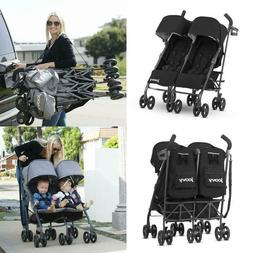 Twin Groove Ultralight Umbrella Stroller Soft Brushed Fabric