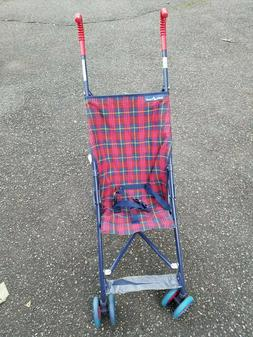 Umbrella Stroller -- Brand New -- Baby Trend -- Red and Blue
