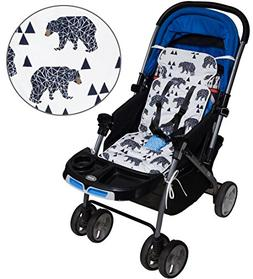 Universal Baby Stroller Seat Liner Infant Car Seat Cushion,