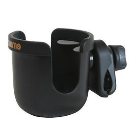 Emmzoe Universal Fit Stroller Cup Holder - Drink Stabilizer,