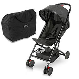 Upgraded Portable Lightweight Travel Stroller - Easy 1 Hand