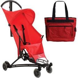 Quinny YEZZ Lightweight Stroller with Diaper Bag - Red Signa