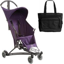 Quinny YEZZ Lightweight Stroller with Diaper Bag - Purple Ru
