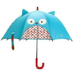 Skip Hop Zoo Umbrella Little Kid Owl Peek-A-Boo Window Kid-F
