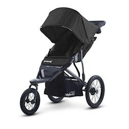 zoom 360 ultralight jogging stroller black